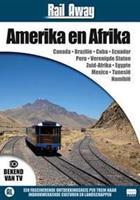 Rail away continenten - Amerika en Afrika (DVD)