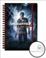 Pyramid International Uncharted 4 Cover A5 Notebook