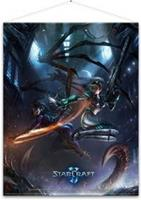 Gaya Entertainment Starcraft Wallscroll Kerrigan and Nova