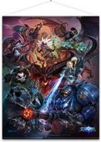 Gaya Entertainment Heroes of the Storm Wallscroll - Heroes