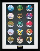 Pokemon Collector Print - Pokeballs