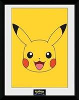 GB Eye Pokemon Collector Print - Pikachu Face