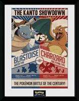 GB Eye Pokemon Collector Print - Red vs Blue