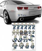 Fanwraps Fallout - Family Decals