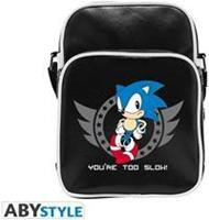 ABYstyle Sonic Small Messenger BagYou're too Slow!'