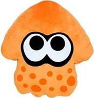San-ei Co Splatoon Pluche Pillow - Inkling Squid Orange