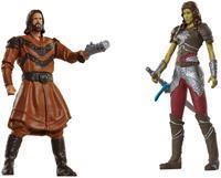 Jakks Pacific Warcraft Mini Figures - Lothar vs Garona