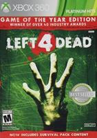 Valve Left 4 Dead Game of the year (platinum hits)