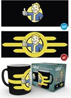 GB Eye warmtemok Fallout: Vault Boy zwart 300 ml