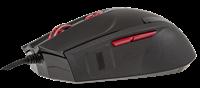 Thermaltake Tt eSPORTS Black FP USB Laser 5700DPI Ambidextrous Zwart muis
