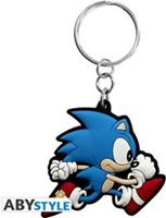 ABYstyle Sonic PVC Keychain - Running Sonic