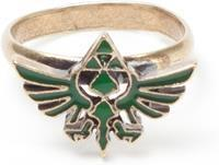Bioworld Zelda - Ring with Green Triforce Logo