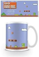 Pyramid International Super Mario Bros. Mug Retro Title