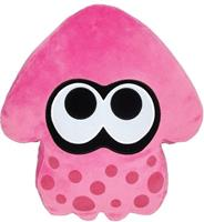 San-ei Co Splatoon Pluche Pillow - Inkling Squid Pink