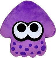 San-ei Co Splatoon Pluche Pillow - Inkling Squid Purple