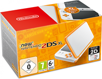 Nintendo New  2DS XL (White/Orange)