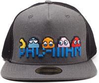 Pac-man - Pixel Logo and Characters Snapback