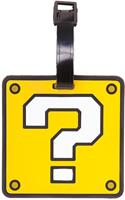 Bioworld Nintendo - Question Mark Rubber Luggage Tag