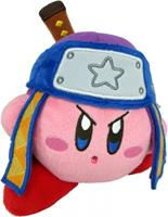 San-ei Co Kirby Pluche - Ninja Kirby (blue/purple cap)
