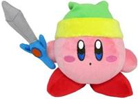 San-ei Co Kirby Pluche - Sword Kirby (grey sword)
