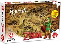 Winning Moves The Legend of Zelda Puzzle - Hyrule Map (500 pieces)