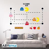 ABYstyle Pac-Man Wall Stickers Characters & Maze