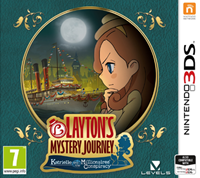Nintendo Layton's Mystery Journey Katrielle and the Millionaires' Conspiracy (Engelstalig)