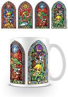 Pyramid International Legend of Zelda Mug Stained Glass