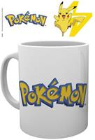 Pyramid International Pokemon Mug - Pokemon Logo with Pikachu