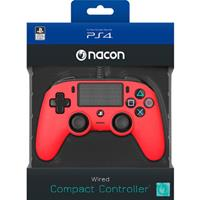 Bigben Nacon Wired Compact Controller (Red)