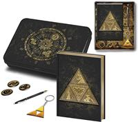 Pyramid International Legend of Zelda Premium Stationery Tin Box Set Triforce