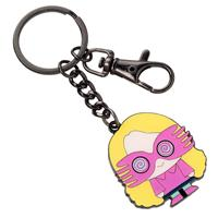 Carat Shop, The Harry Potter Cutie Collection Keychain Luna Lovegood (silver plated)