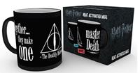 GYE warmtemok Harry Potter and the Deathly Hallows zwart 300 ml