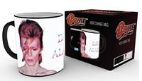 GYE warmtemok David Bowie: Aladdin Sane zwart/wit 300 ml