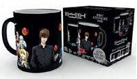 GYE Death Note Heat Change Mug Group
