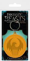 Pyramid International Fantastic Beasts Rubber Keychain Macusa Logo 6 cm