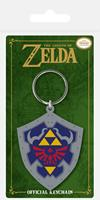 Pyramid International Legend of Zelda Rubber Keychain Hylian Shield 6 cm