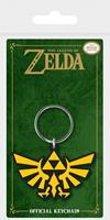 Pyramid International Legend of Zelda Rubber Keychain Triforce 6 cm