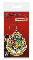 Pyramid International Harry Potter Rubber Keychain Hogwart's Crest 6 cm