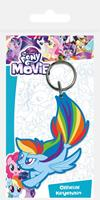 Pyramid International My Little Pony Rubber Keychain Rainbow Dash Sea Pony 6 cm