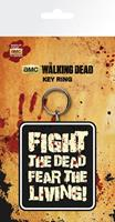 GYE Walking Dead Rubber Keychain Fight The Dead 7 cm