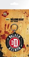 GYE Walking Dead Rubber Keychain Walker Hunter 7 cm