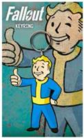 GYE Fallout Rubber Keychain Vault Boy Thumbs Up 7 cm