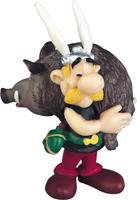 Plastoy Asterix Figure Asterix holding a Boar 6 cm
