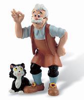 Bullyland Pinocchio Figure Gepeto 8 cm