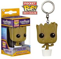 Funko Guardians of the Galaxy Pocket POP! Vinyl Keychain Dancing Groot 4 cm