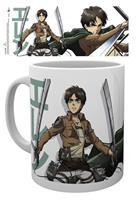 GYE Attack on Titan Season 2 Mug Eren Duo