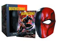 DC Collectibles DC Comics Replica Deathstroke Mask & Book Set