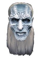 TOT Game of Thrones Latex Mask White Walker
