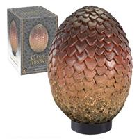 Noble Collection Game of Thrones Dragon Egg Prop Replica Drogon 20 cm
